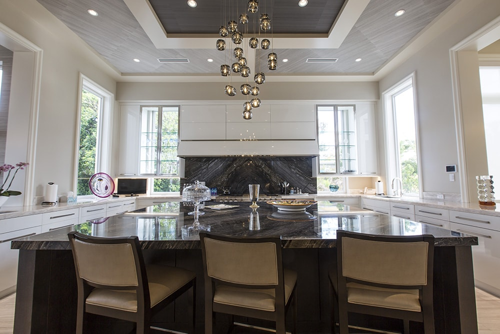Kitchen Design in Custom South Florida Home