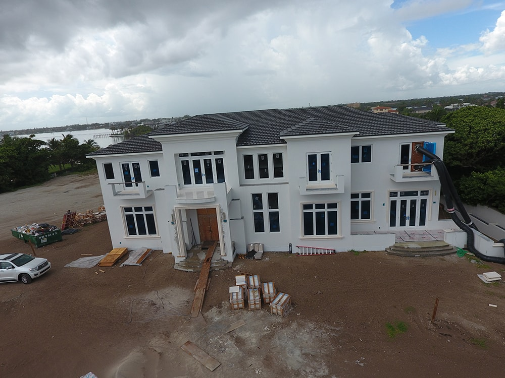 South Florida Oceanfront Construction in Progress