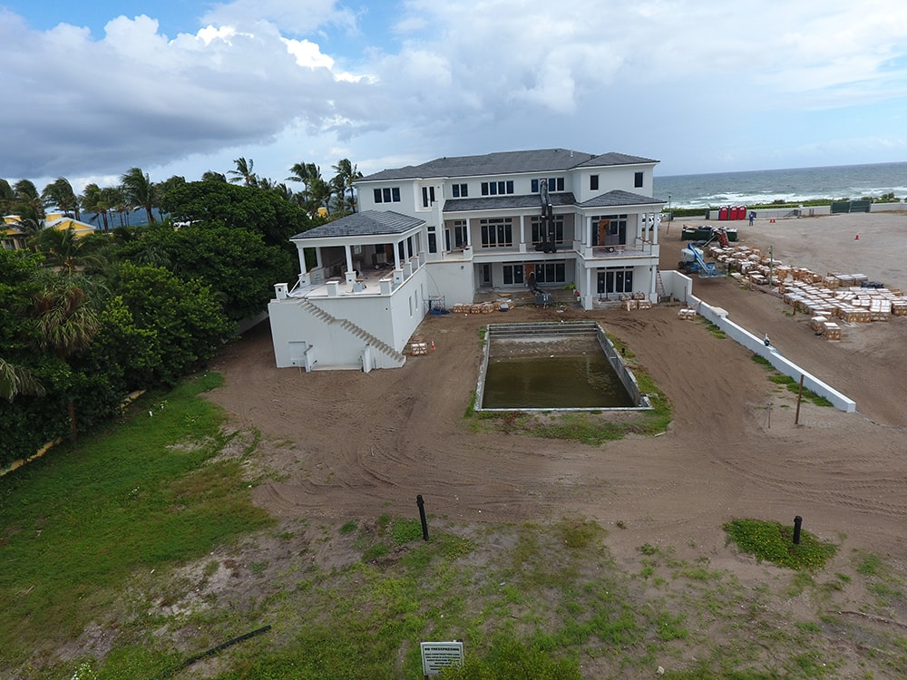 Manalapan Oceanfront Construction